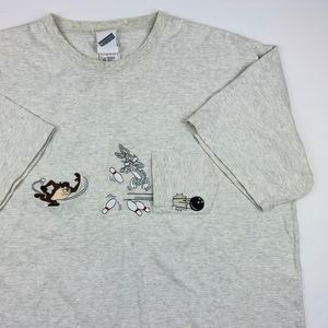 Warner Bros Studio Store Bugs and Taz Pocket Tee